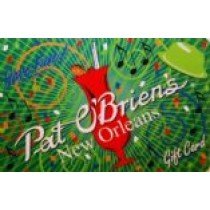 $25 Pat O's Gift Card for French Quarter (New Orleans)