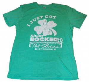 "The Famous Pat O'Brien's ""I Got Shamrocked"" T-Shirt"